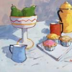 Coffee & Cakes 14x12 ins £595